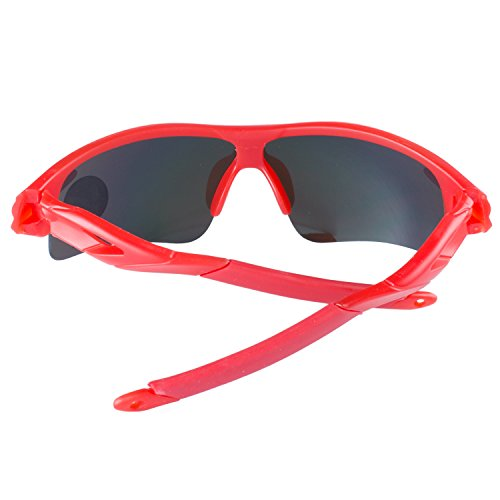 Deportes Moda Rojo Pesca Ciclismo Al Aire De Lentes Conducción Montatura Gafas ANVEY Sol Gafas Bicicleta De Libre Rojo Gafas Para 5gwqpSSx