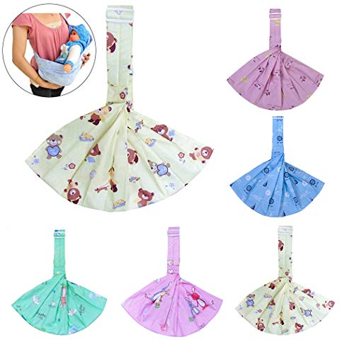 Fascigirl Baby Wrap Adjustable Cotton Infant Carrier Baby Carrier Sling for - Baby Sling Adjustable Cotton