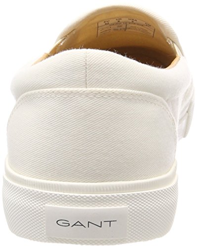 Gant White Off para Hero Mocasines Blanco Hombre AOTBA