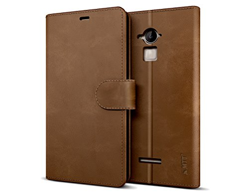 CoolPad Note 3 PU Leather Brown case by MTT