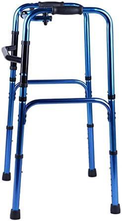 高齢者のための車椅子の調節可能な高さベアリング155Kgのない歩行補助装置の折りたたみ式歩行器、高齢者のための歩行補助器具