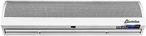 エアカーテンマシン商業ミュート超薄型屋内エアカーテン2スピードシングルコールドプッシュボタンスイッチ、強力、小型、軽量(0.9 / 1.2 / 1.5m)