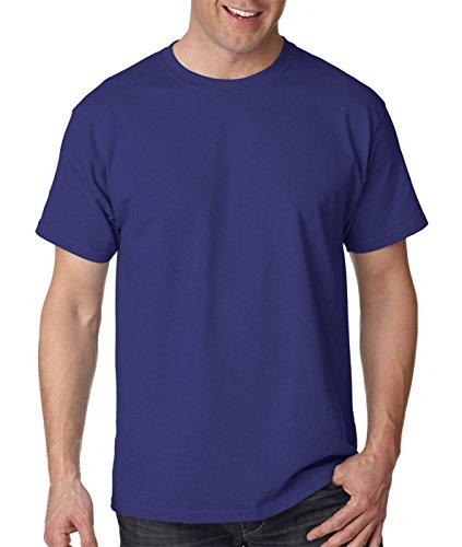 Porpora Hanes Manica 50 nbsp;rif 5170 T shirt 50 Corta A HZxzHAqr