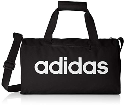 adidas Lin Core Duf XS Gym Bag, Unisex Adulto, Black/Black/White, NS