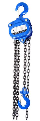 Ross 1 Ton Hand Chain Hoist with 15' Lift (Wt32 lbs)