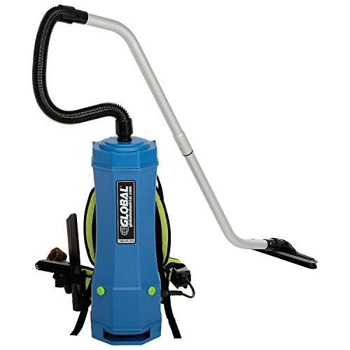 HEPA Backpack Vacuum w/8-Piece Tool Kit, 10 Quart