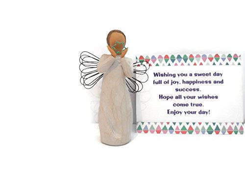 - Willow Tree Bright Star Angel Figurine - Perfect Baptism/Christening Gift