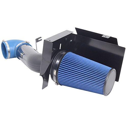BLACK BLUE 00-06 CHEVY TAHOE AVALANCHE 1500 2500 4.8L 5.3L 6.0L AIR INTAKE KIT