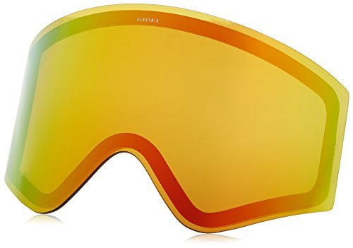Electric Visual EGX Bronze/Red Chrome Snow Goggle Lens