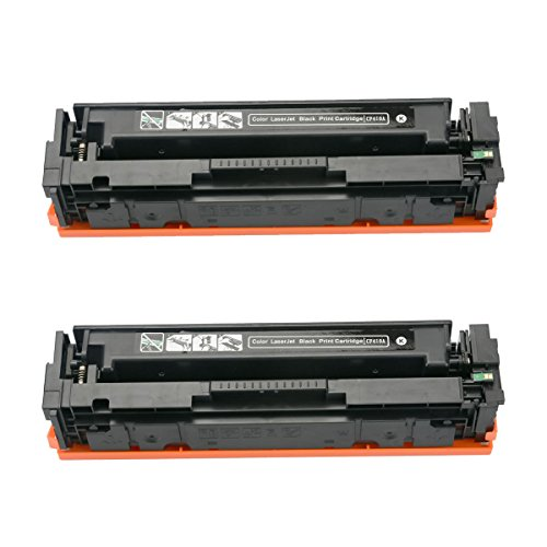 Top 2 Pack Black CF410A 410A Compatible Toner Cartridges for use with Color LaserJet Pro MFP M477fdn M477fdw M477fnw M452dn M452nw M452dw M377dw Series Printer for sale