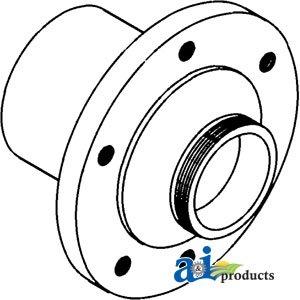 A&I - Hub, Wheel (for use w/ threaded hub cap). PART NO: A-70261418