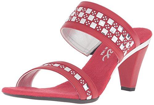 Onex Sandal Dress Red O NEX Chess Women's vw8qvgF