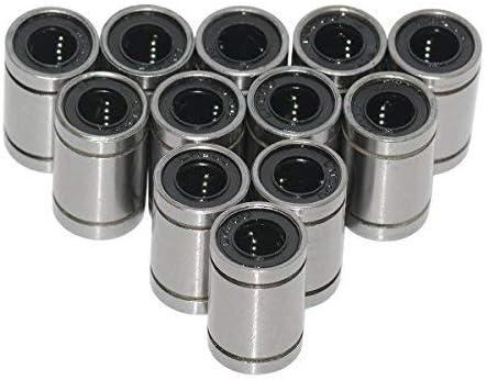 Geeetech rodamientos linéaires de 12pcs LM8UU 8 mm para la ...