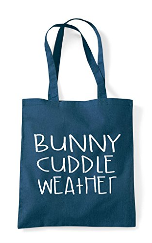 Petrol Pet Weather Cuddle Bag Funny Themed Shopper Cute Bunny Tote Animal qvfBO1xwx