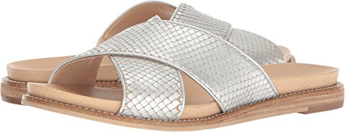 (Dr. Scholl's Women's Deco - Original Collection Silver Snake Print Leather 8 M US)