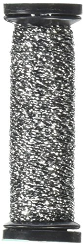 Kreinik Blending Filament 50m Metallic Thread for Sewing, 55-Yard, - Pewter Floss