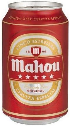 Bote de camuflaje / Lata de ocultación imitación cerveza (Mahou): Amazon.es: Jardín