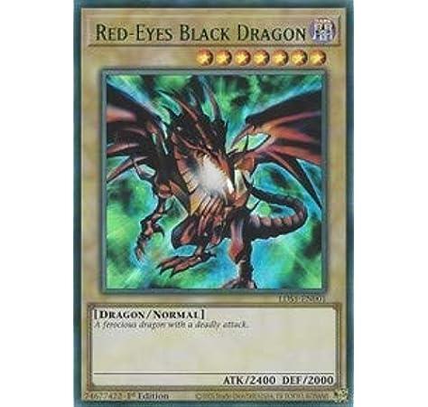 Secret Rare Red-Eyes Baby Dragon LDS1-EN010
