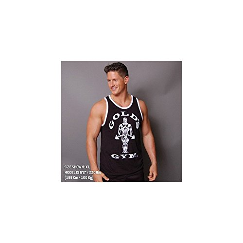 Camiseta Atleta Premium Joe Contraste Golds Gym Camisetas Gym Chico