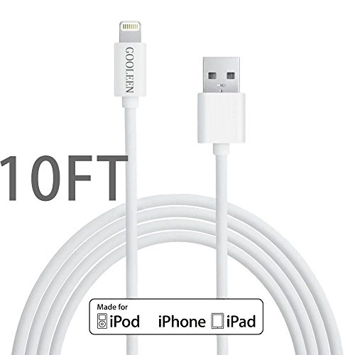long iphone charger iphone charger gooleen 10ft 8 pin lightning to 12594