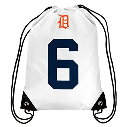 Detroit Tigers Kaline A. #6 Hall Of Fame Drawstring Backpack by FOCO