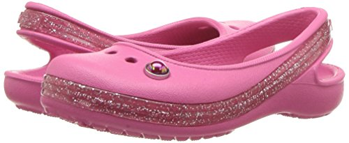 Pictures of Crocs Kids' Genna II Sparkle Flat US 4