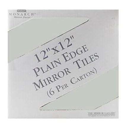 Amazoncom Stanley Basics P1212nt Mirror Tile 12 X 12 Pk6 Home