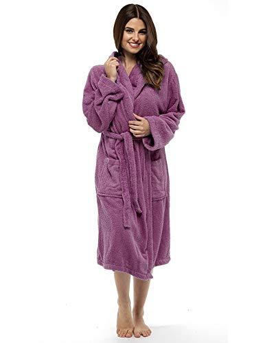 Pour Wrap Châle Et Sauvage Orchidée Chambre Bain Citycomfort Luxe Absorbant En Capuche Coton Très Peignoir Robe Éponge Serviette De Femmes TUxtH6