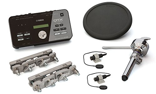 (Yamaha DTX Hybrid Electronic Drum Pack with DTX502 Module, TP70 Drum Pad, Triggers and Mounts)
