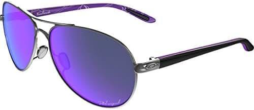 Oakley Women's Feedback OO4079 Aviator Sunglasses