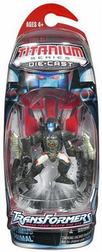 Titanium Series Transformers 3 Inch Metal Robot Beast Wars Optimus Primal