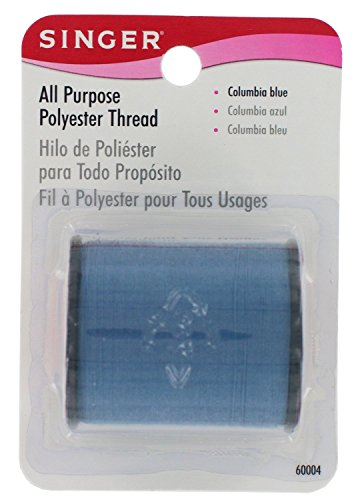 SINGER All Have a mind Polyester Thread, 150-Yard, Columbia Blue