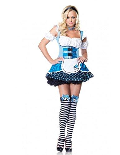 Magic Mushroom Alice Adult Costume - Medium/Large