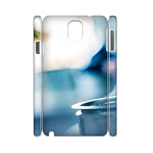 3D Samsung Galaxy Note 3 Case,Home Brewed Coffee Closeup Hard Shell Back Case for White Samsung Galaxy Note 3