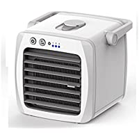 G2T-ICE Personal Mini Air Cooler, Portable Desktop Air Purifier Evaporative Cooling Fan, No-leaking Design, White