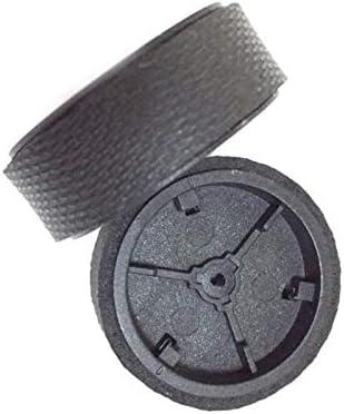 Vaorwne 2 Ruedas Giratorias Originales + 2 Ruedas Neumático/Neumático para Braava 380 380T 320 390 381 390T Mint Plus 4200 5200C Piezas De Repuesto