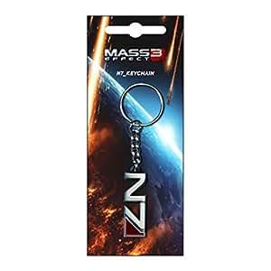 Mass Effect 3 N7 Logo Keychain