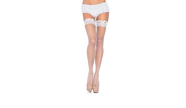 2ef089b41c8 Amazon.com  Leg Avenue Women s Backseam Thigh Highs