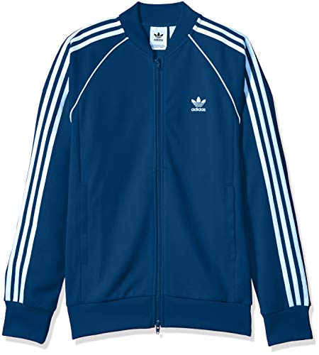 adidas Originals Men's Superstar Track Jacket, Legend Marine, Medium