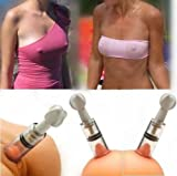 GGonline Mini Vacuum Pump Nipple suck Breast Enhance Suck Male Female Nipple Sucker 4 PK