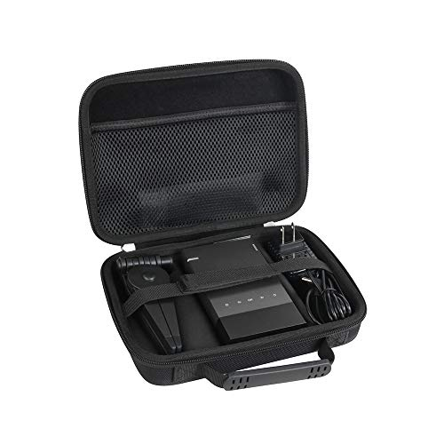 Hermitshell Hard Travel Case Fits Vamvo Ultra Mini Portable Projector 1080p Supported HD DLP LED Rechargeable Pico Projector