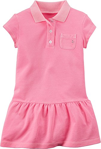Carters Little Girls Polo Dress