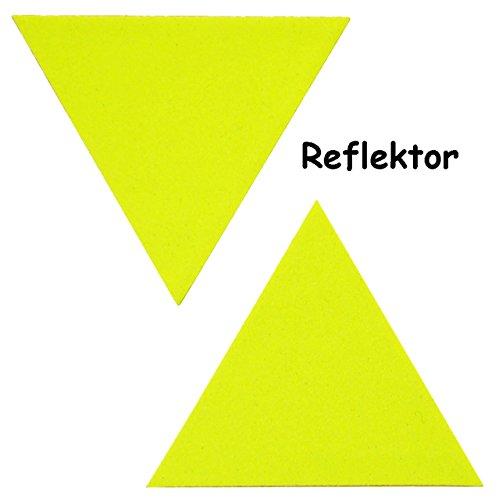 2 tlg. Set Reflektor - Signal-Sticker in -