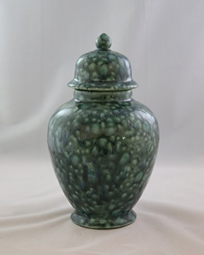 Handcrafted Ceramic Urn - Azure -113 cu in - Various Colors and Sizes Available, Cremation Urn for Ashes, Pet Urn by Richland Pet Cremation & Memorials