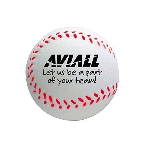 Personalized Baseball Stress Ball 500 per Package