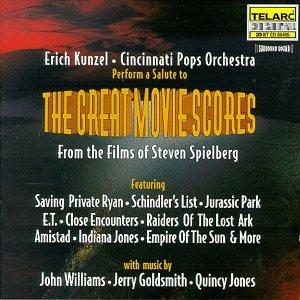 Kunzel, Erich, Cincinnati Pops Orchestra - Great Movie Scores: Films of  Steven Spielberg - Amazon.com Music