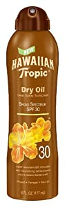Hawaiian Tropic Protective Tanning Pump Lotion SPF 30, 6 Ounce