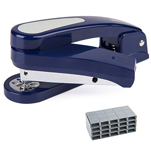 360 Degree Rotatable Staplers, 20 Sheet Capacity with 2000 Staples, Specialized For Booklet Stapling
