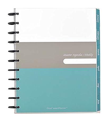 Amazon.com : Levenger Circa Smart Planner 2016 Weekly Agenda ...