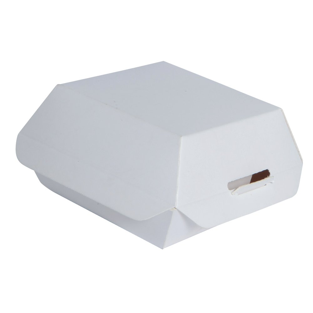 PacknWood Cardboard Mini-Slider Box with Lid, 3.5'' Long x 3.5'' Wide x 2'' High, White (Case of 500)